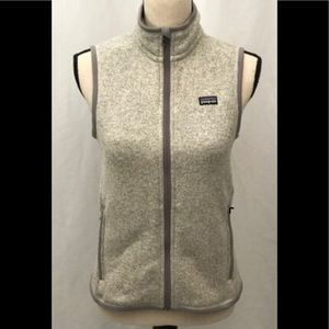 Patagonia Better Sweater Vest Gray Womens Small